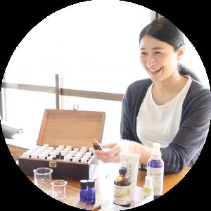 VU円形画像・aroma school